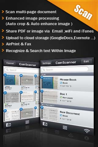 6 aplicaciones gratis de iPhone para escanear documentos 3