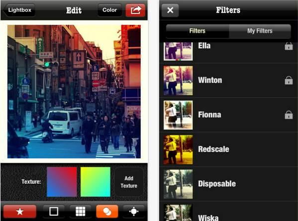 Snapster, alternativa a Instagram que te permite crear tus propios filtros #iOS 2