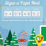 Sigue a Papá Noel en su viaje repartiendo regalos alrededor del planeta con Google Maps