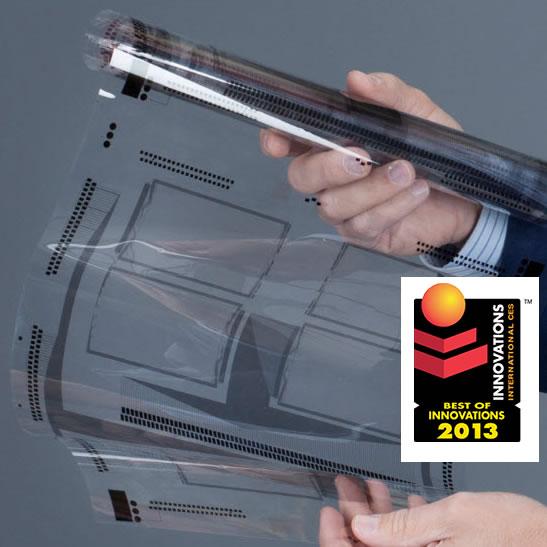 #CES2013 XSense: Tecnología para agregar capacidad táctil, a las superficies curvas