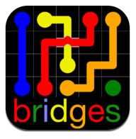 Flow Free: Bidges  juego o puzzle para entretenerse con tu teléfono inteligente