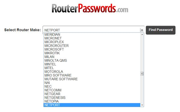 router-password-fabricantes
