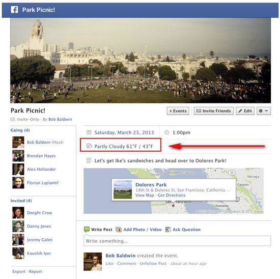 facebook-weather-event