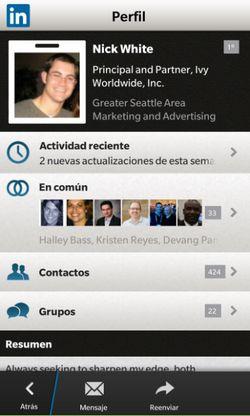 linkedin-bb10-perfil