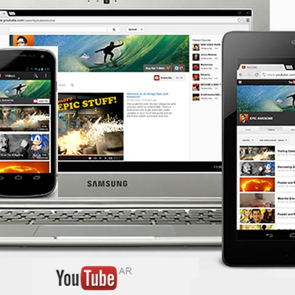 Youtube One Channel: Nuevo diseño para tu canal único de Youtube