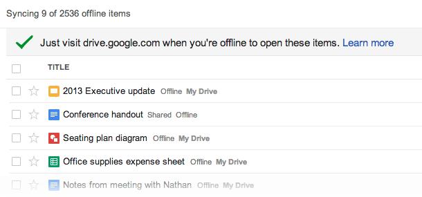 google-drive-sync-offline