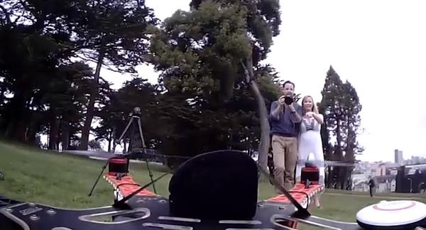 wedding-drone