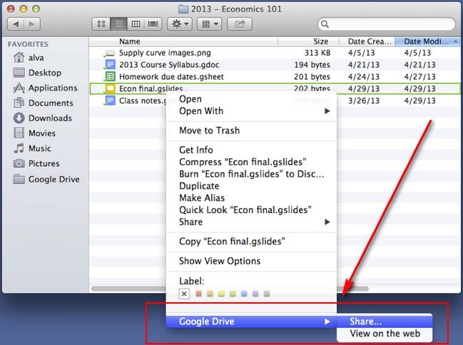 google-drive-share