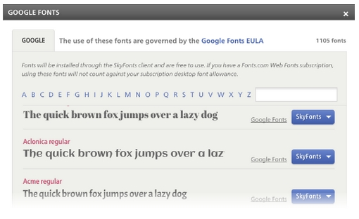 google-fonts-open-source