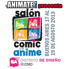 Salon del Comic y Anime, Centro Metropolitano de Diseño, Buenos Aires