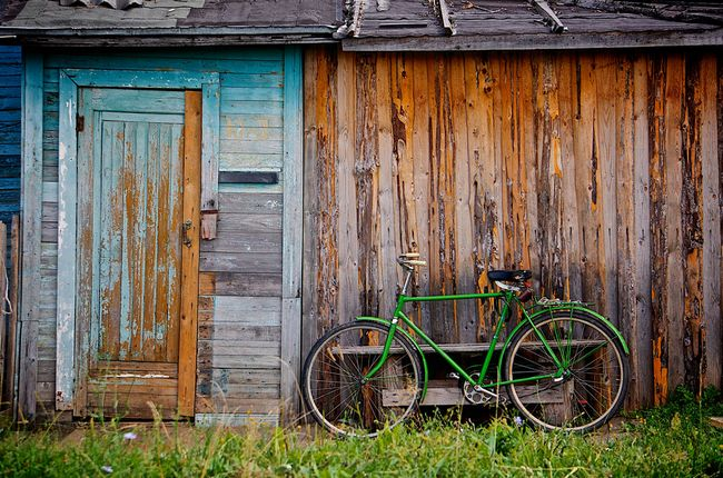 green-bike-alexander-shustov