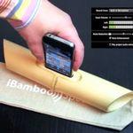 iBamboo, simple parlante-amplificador de sonido para iPhone construido con bambú