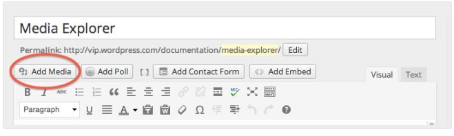 wordpress-media-explorer