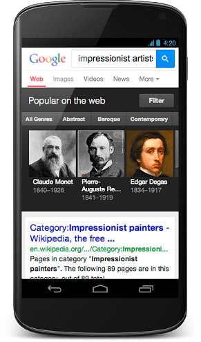 google-knowledge-graph-impresionits-artists