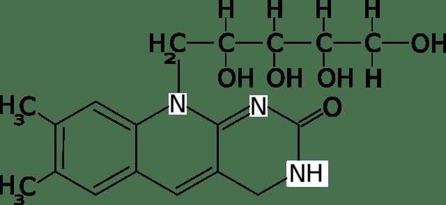 640px-Riboflavina