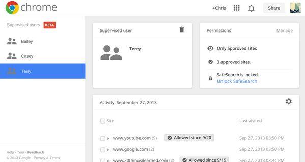 chrome-beta-supervised-users