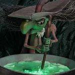 El Doodle de Google de Halloween incluye varias animaciones y una poción mágica