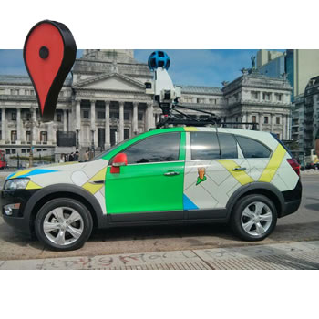 Desde hoy comienzan los relevamientos de los autos de Google #StreetViewArgentina