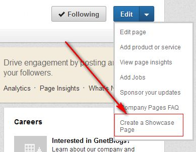 linkedin-create-showcase-page