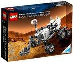 El nuevo set de LEGO Curiosity Rover saldrá a la venta el primer día del 2014