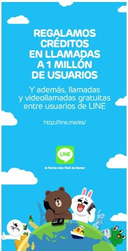 line-call-100-creditos-regalo