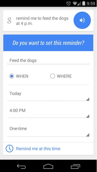 google-now-recordatorio-android