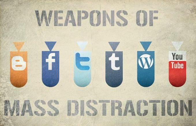 Weapons Of Mass Distraction - Hunter Langston