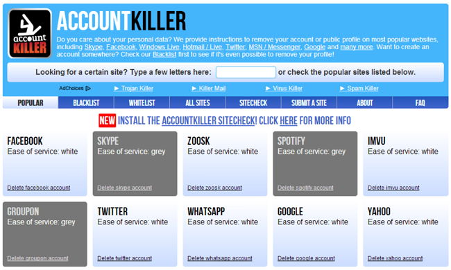 account-killer