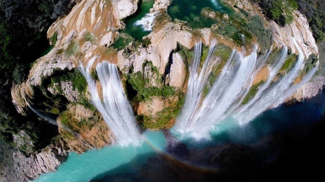 Las Cascadas de Tamul en San Luis Potosí, Mexico - Foto del usuario 'postandfly' en Dronestagram
