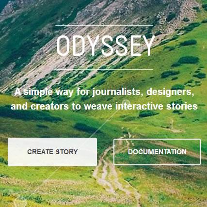 Proyecto Odyssey, herramienta de código abierto que combina mapas, historias y mucho más