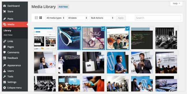 wordpress-com-4-0-media-library
