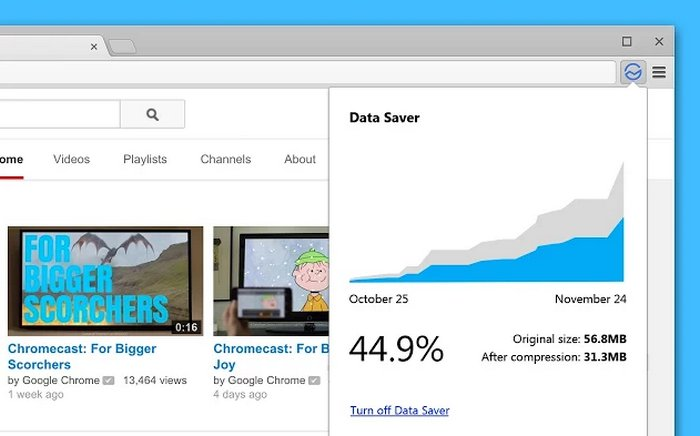 google-data-saver-para-chrome