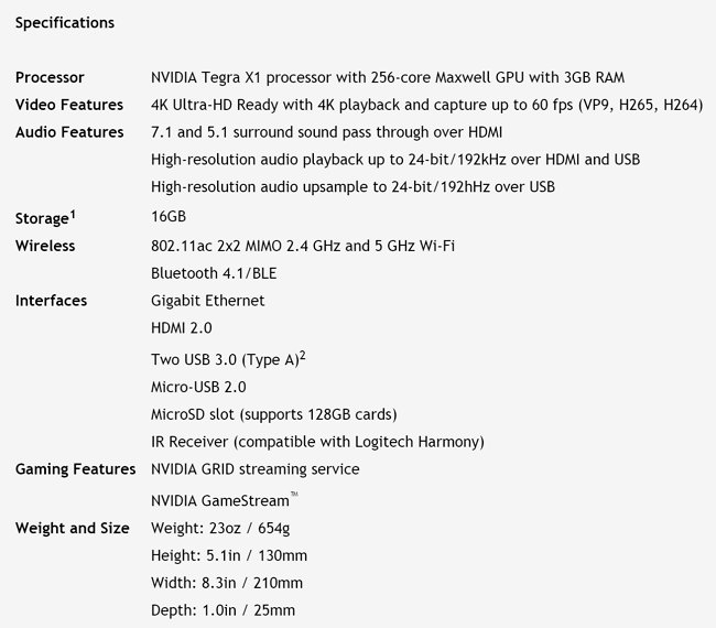 nvidia-shield-tv-specifications