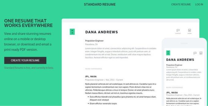 standard-resume