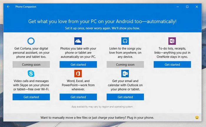 windows-10-phone-companion-app-download