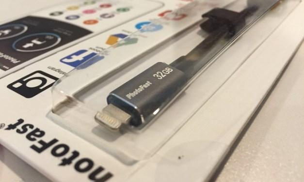 Review: PhotoFast MemoryCable 32G para dispositivos iOS