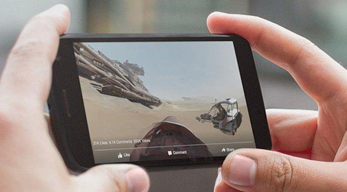 Facebook convertirá panorámicas en fotos de 360º para la feed de noticias y Gear VR