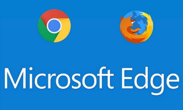 Windows 10 ahora alerta a los usuarios de Chrome y Firefox que Microsoft Edge es más seguro