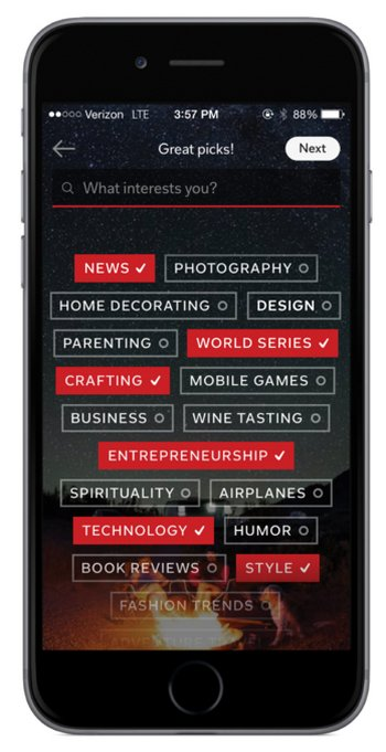 flipboard-user-interest-iphone