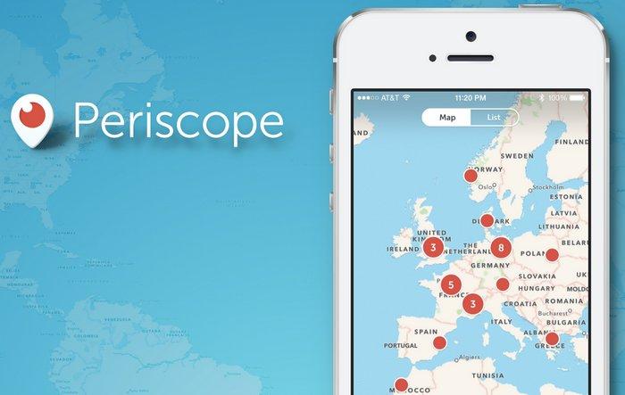 Cada 24 horas se ven más de 110 años de vídeo en vivo a través de Periscope (Android e iOS)