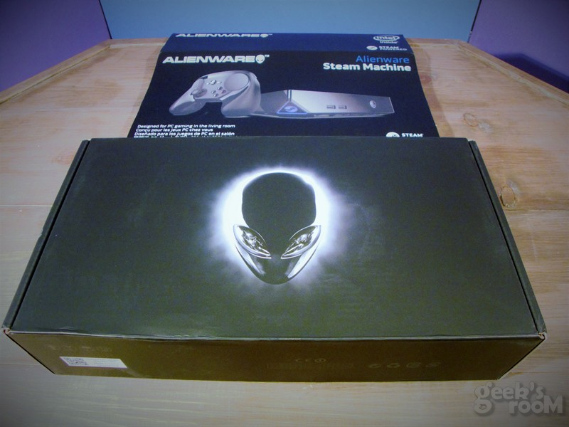 Alienware Steam Machine: unboxing y mi primera impresión #SteamMachine #AWSMFirstLook