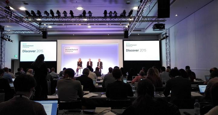 HP Discover 2015 Londres - Imagen Geek's Room
