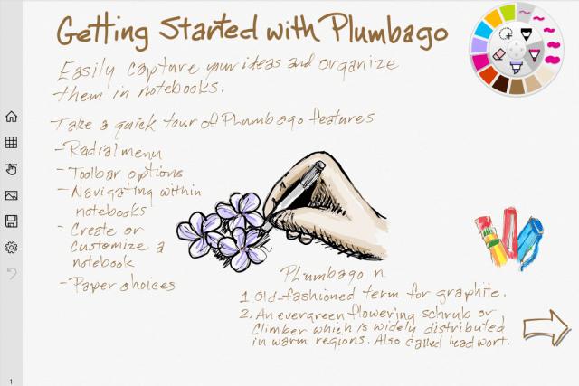 Microsoft Plumbago, nueva app gratis (Windows 8.1 y 10) para tomar notas manuscritas y dibujar