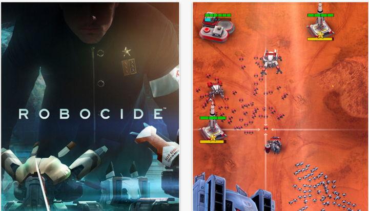 Robocide, un estupendo y adictivo juego gratis de estrategia en tiempo real para móviles