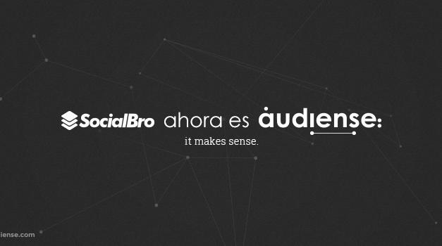 La plataforma de social marketing SocialBro cambia su marca ahora es Audiense