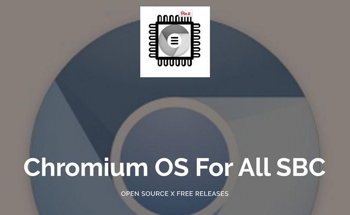 Ya pueden instalar una versión de prueba de Chromium OS en Raspberry Pi 2 y 3