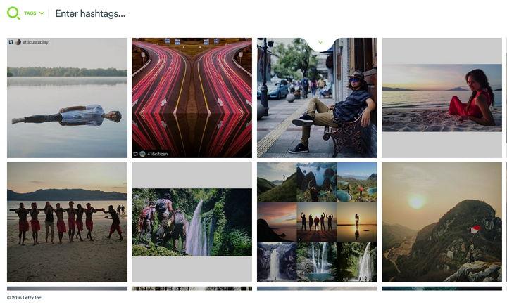 Lefty te ayuda a descubrir imágenes en Instagram y a pedir permiso al dueño para usarlas