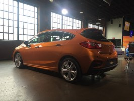 Chevy Cruze Hatchback 2017