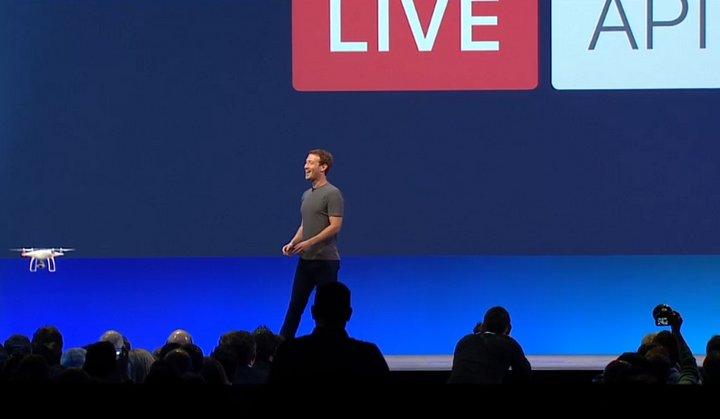 Facebook anuncia el lanzamiento del API de transmisiones de vídeo en vivo #F8