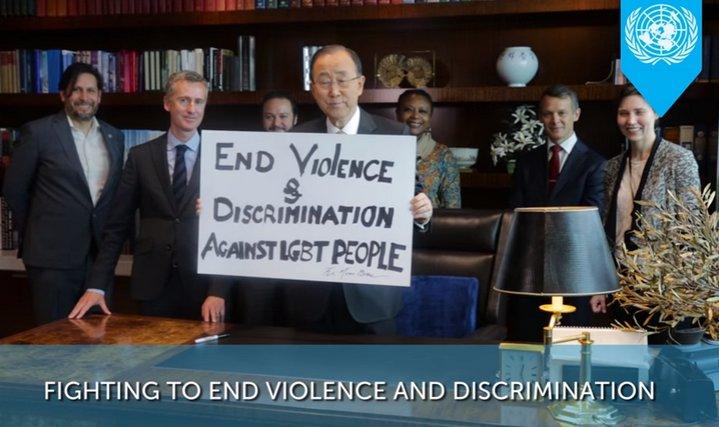 Naciones Unidas publica vídeo para celebrar Día Internacional contra la Homofobia y la Transfobia